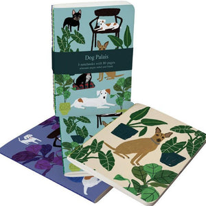 Dog Palais - 3 Pack of A6 Notebooks - Luvit!