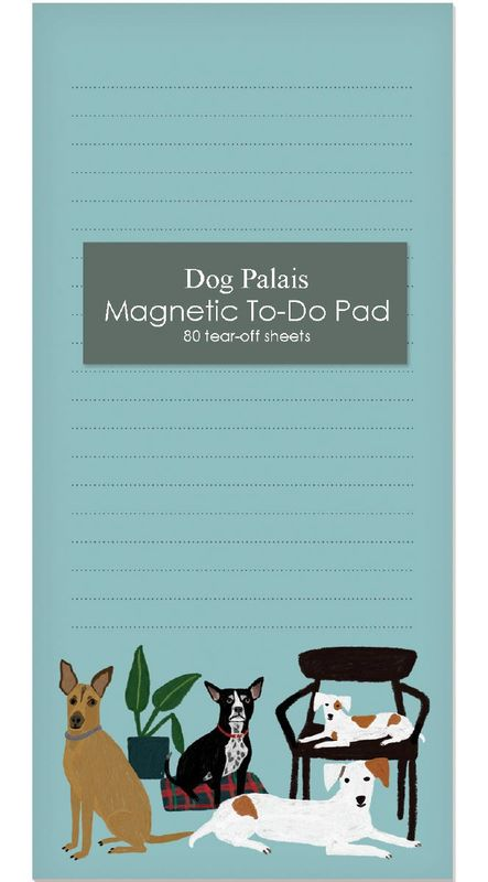 Dog Magnetic To Do Notepad - Luvit!