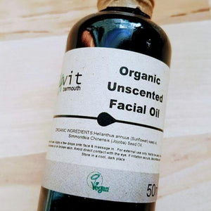 Organic Unscented Facial Oil - Luvit!