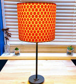 Load image into Gallery viewer, Lampshade -  Burnt Orange Geometric Design - Luvit!