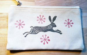 Rabbit zip purse - Luvit!