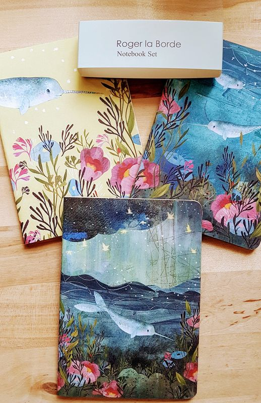 Sea Dreams - pack 3 notebooks - Luvit!