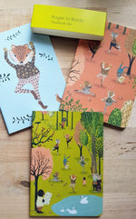 Load image into Gallery viewer, Yoga in the Park - 3 pack A6 Notebooks - Luvit!