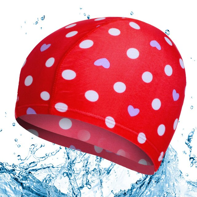 New Waterproof Protect Ears High Elastic Silicone Rubber Unisex Colorful Adult Men Women Waterproof Swim  Hat Swimming Cap