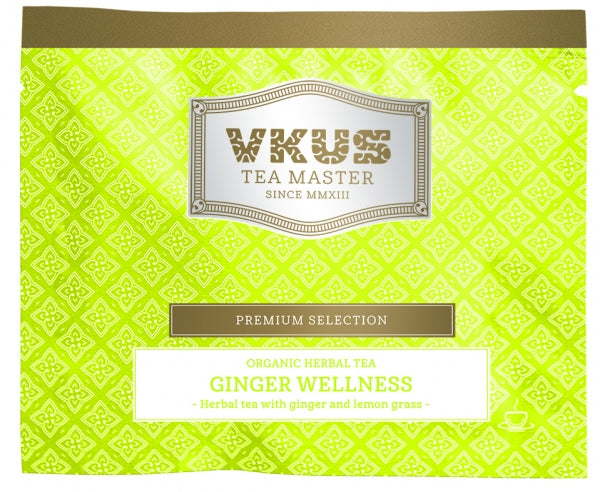 Organic Herbal Tea Ginger Wellness