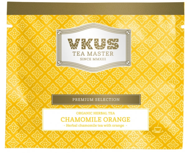 Organic Herbal Tea Chamomile Orange