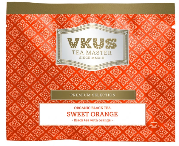Organic Black Tea Sweet Orange