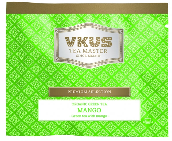 Organic Green Tea Mango