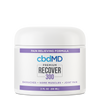 CBDMD THC FREE RECOVER CBD CREAM Tub 300 MG - 2 OZ