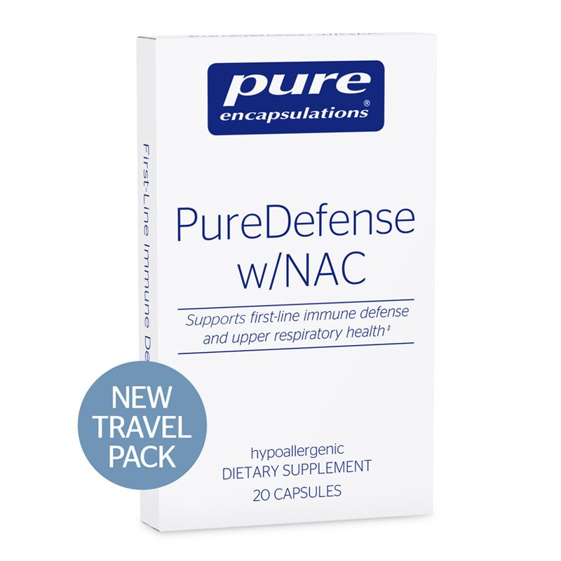 Pure Encapsulations PureDefense w/NAC Travel Pack
