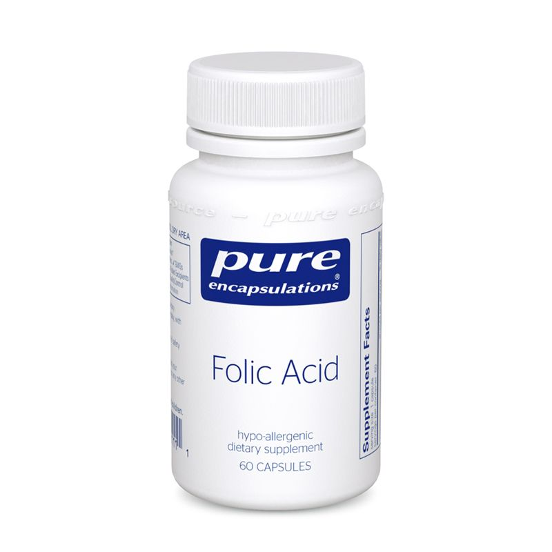 Pure Encapsulations Folic Acid 60's
