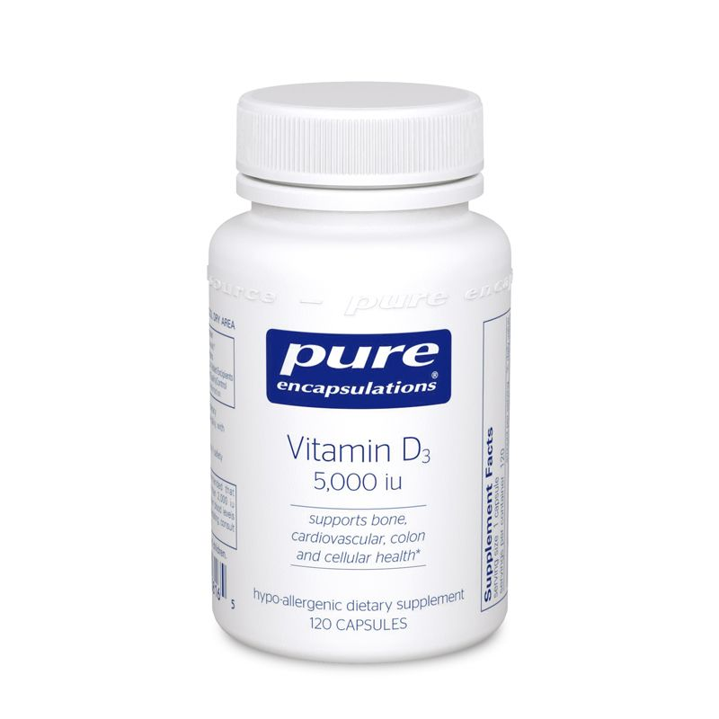 Pure Encapsulations Vitamin D3 125 mcg