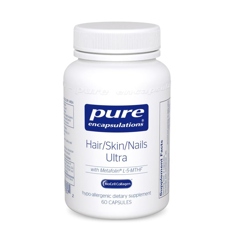 Pure Encapsulations Hair Skin Nails Ultra 60's
