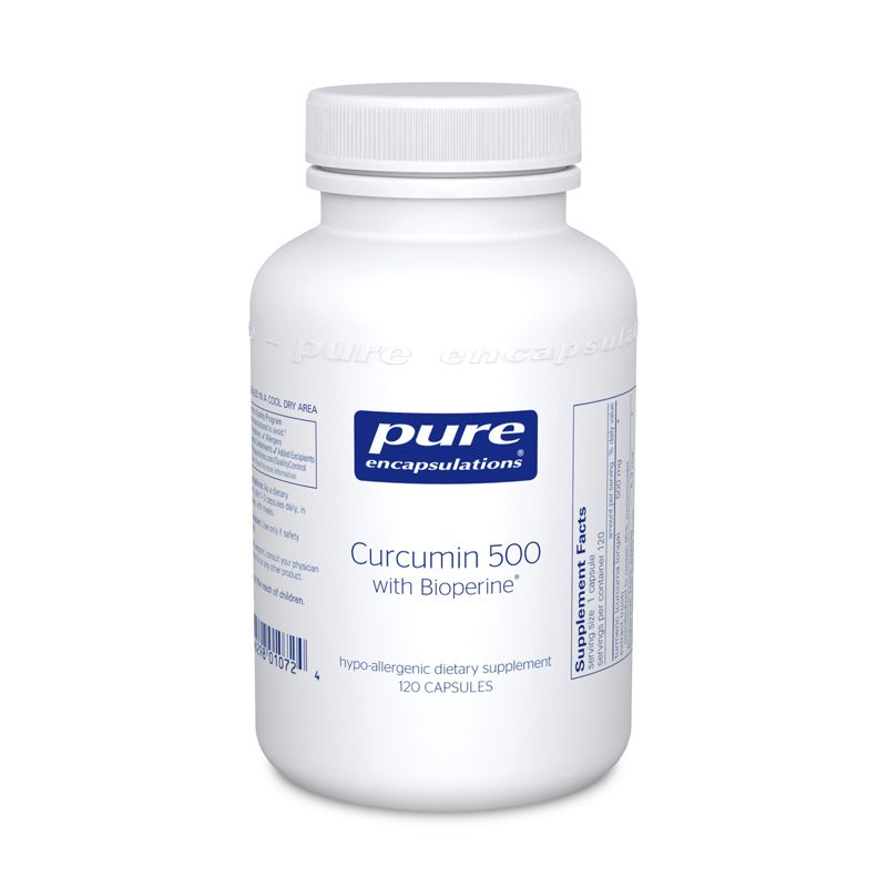 Pure Encapsulations Curcumin 500 with Bioperine®