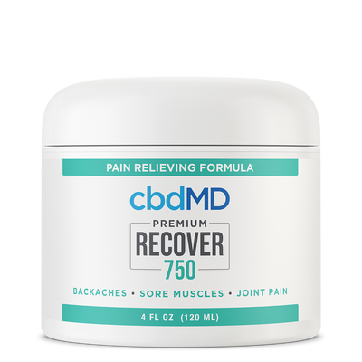 CBDMD CBD Recover Tub 750 MG - 4 OZ