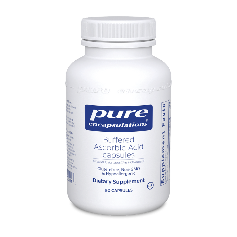 Pure Encapsulations Buffered Ascorbic Acid Capsules