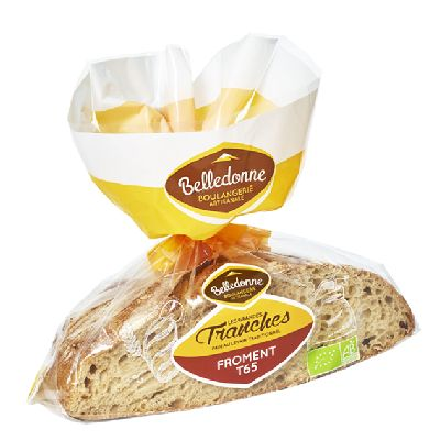Pain Tranche Froment 400 G Belledonne