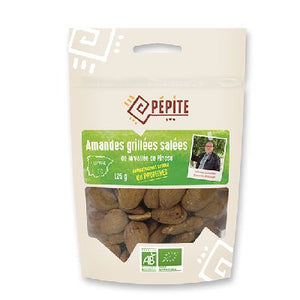 Amandes Grillees Salees 125g Direct Product