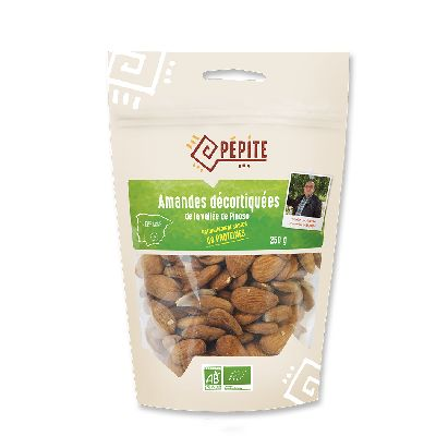 Amandes Decortiquees 250g  Direct Producteurs