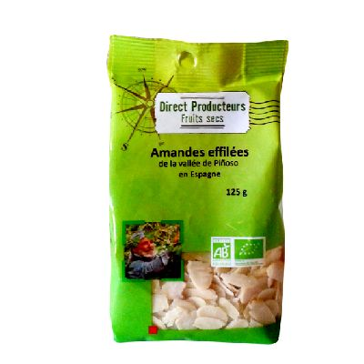 Amandes Effilees 125g Direct Producteurs