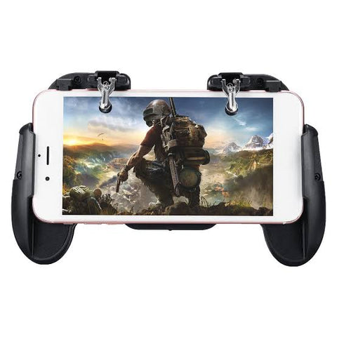 H5.0 Mobile gaming trigger controller with a cooling fan for Cellphone PUBG and COD Mobile