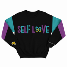 Load image into Gallery viewer, Royal Black  Self Love Sweat Suit by True Health 4ever