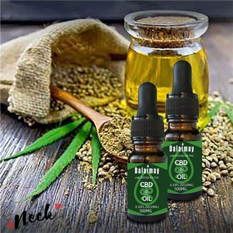CBD massage essential oil for the body-iNeck ™ ️ Dalaimay-Accessoire massage