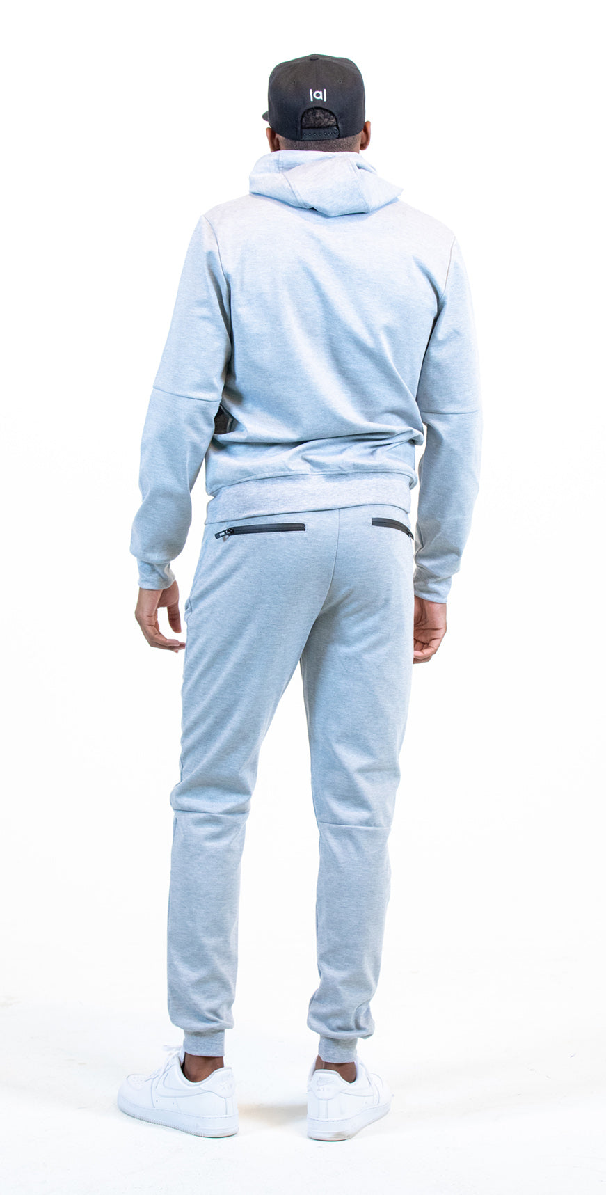 Affiliated SPEED Tech Fleece Sweatsuit (Grey)