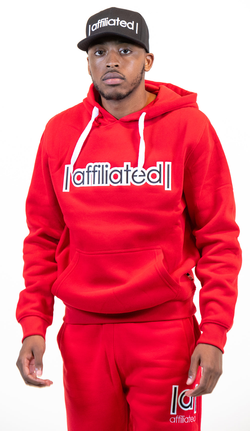 Affiliated SIGNATURE Pullover Hoodie (Red)