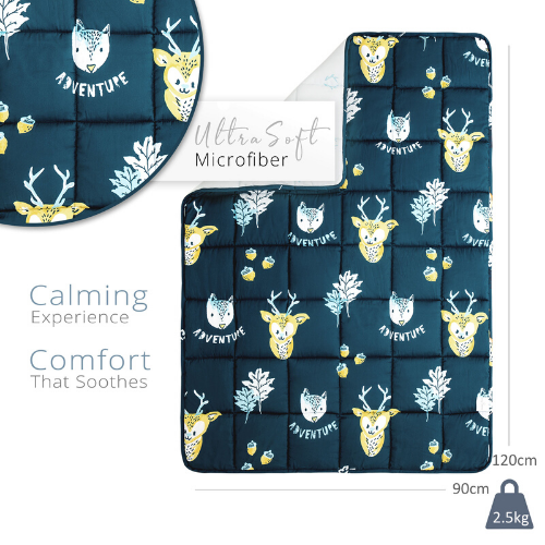 Blue Adventure Weighted Blanket