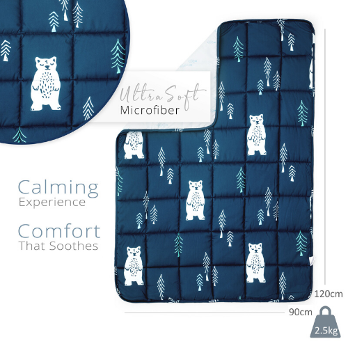 Blue Bear Weighted Blanket