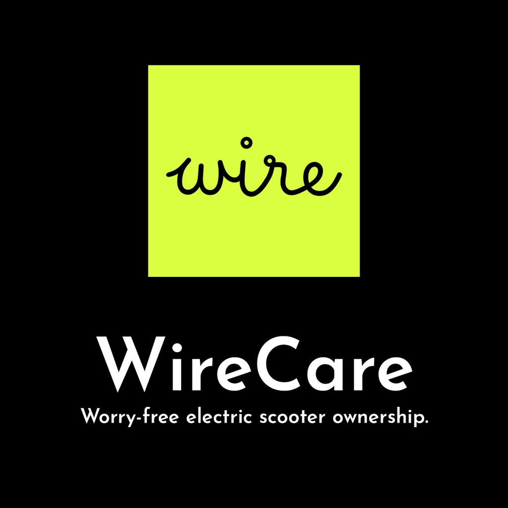 WireCare Logo Electric Scooter Repair and Maintenance Subscription Program