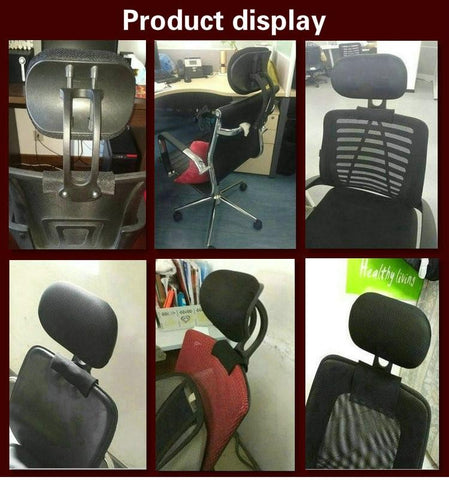 Adjustable Height Upholstered Headrest for Office Chairs - Truest Value