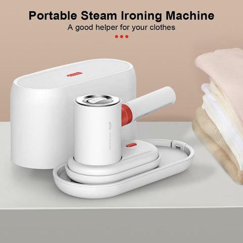 Image of Deerma HS200 2 in 1 Garment Steamers and Flat Iron - Truest Value