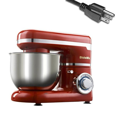 Image of Heavy-Duty 6-speed Food Mixer 1200W 4L Stainless Steel Bowl - Truest Value