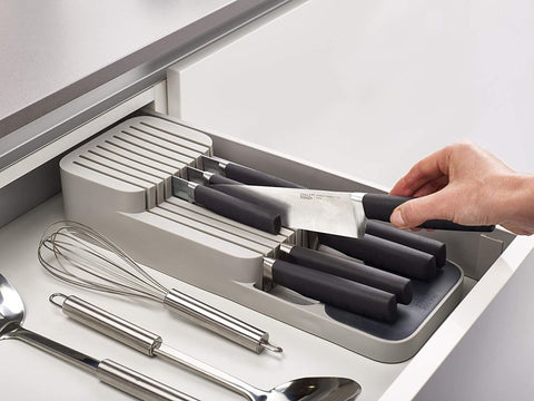 Kitchen Drawer Organizer Tray for Cutlery and Utensils - Truest Value