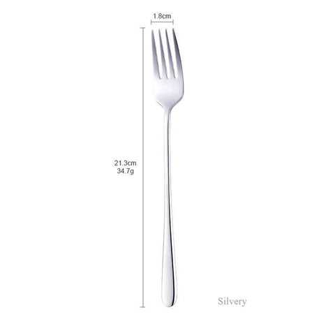 London Fork 8 Colors Stainless Steel Fancy Flatware - Truest Value