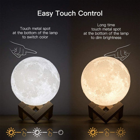 Image of Nighty LED Lamp w/ Remote 16-color Change Modes - Truest Value
