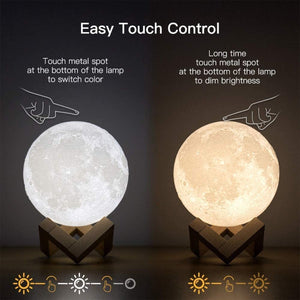 Nighty LED Lamp w/ Remote 16-color Change Modes - Truest Value