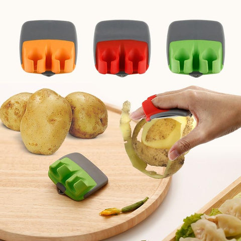 Stainless Steel Blade Vegetable Peeler Hand Potato Peelers for Kitchen - Truest Value