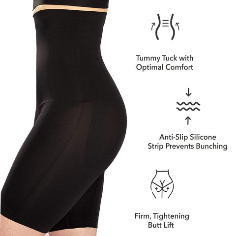 Image of Super Shaper High Waisted Body Shaper Shorts - Truest Value