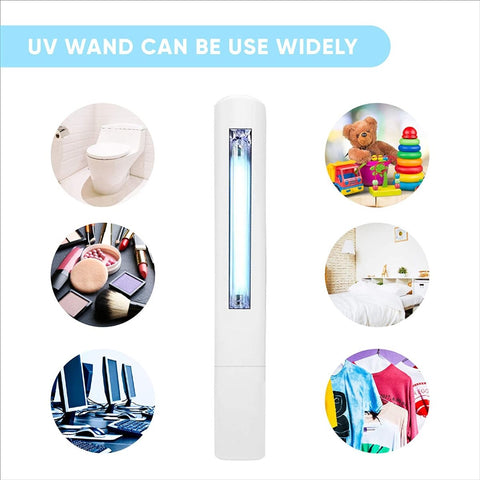 Image of Ultraviolet Portable Disinfection Lamp Battery UV Sterilization lamp - Truest Value