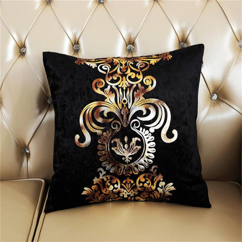Image of Velour Cushion Cover - Truest Value