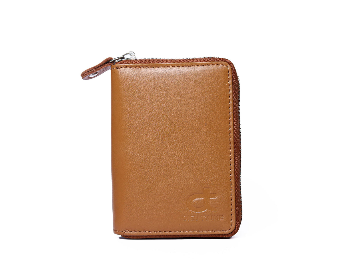 TAN COLOUR CARD CASE