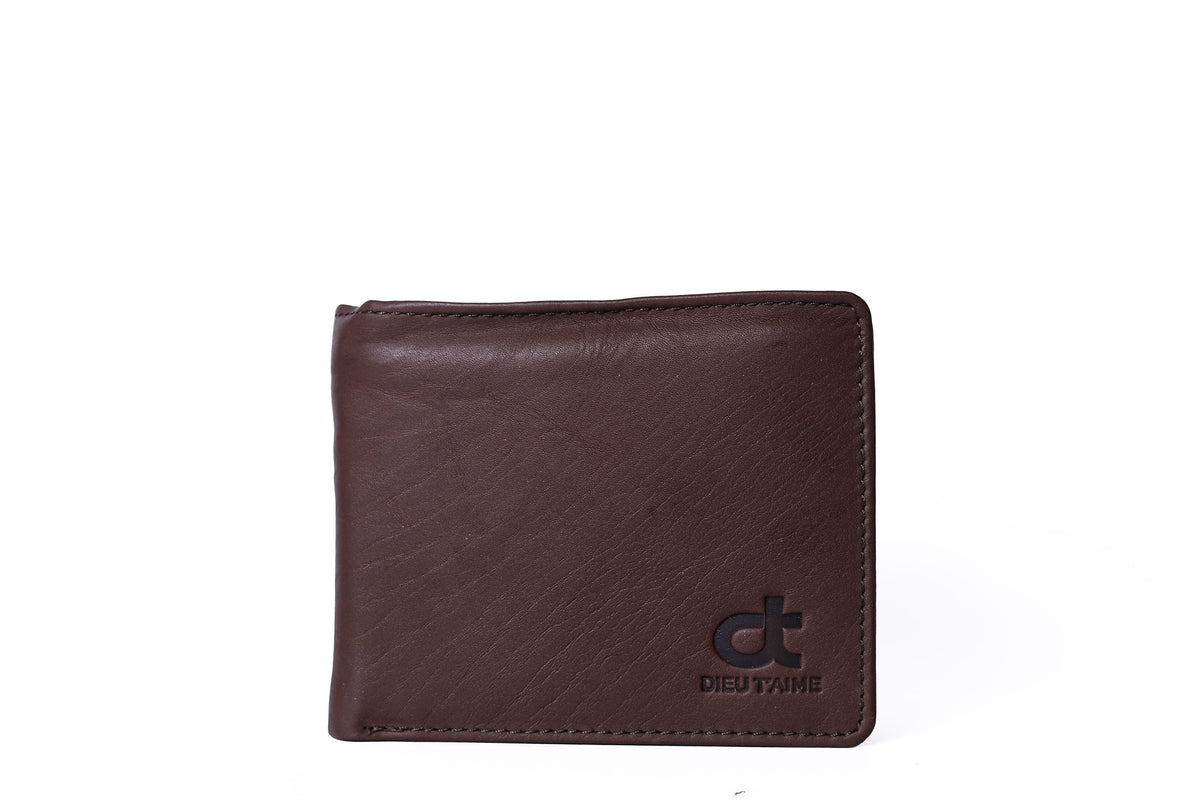 BROWN HANDSOME WALLET
