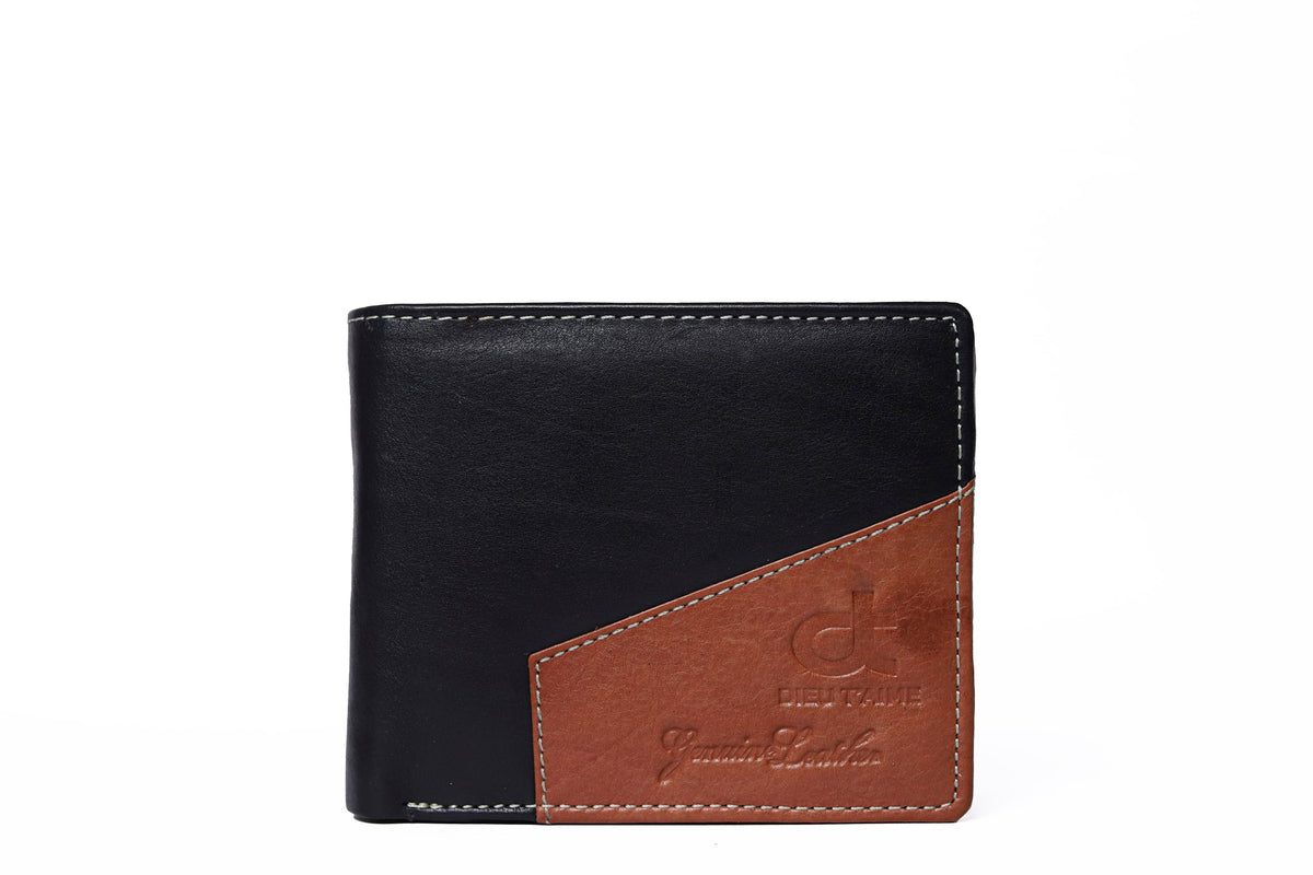BLACK / BRUNETTE WALLET