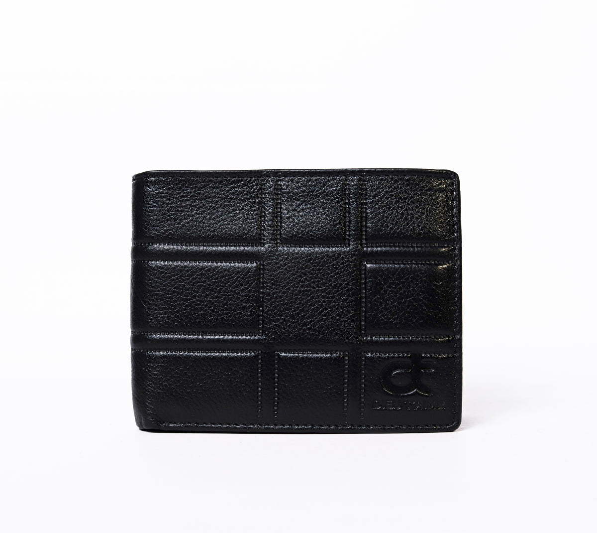 BLACK SQUARE  WALLET