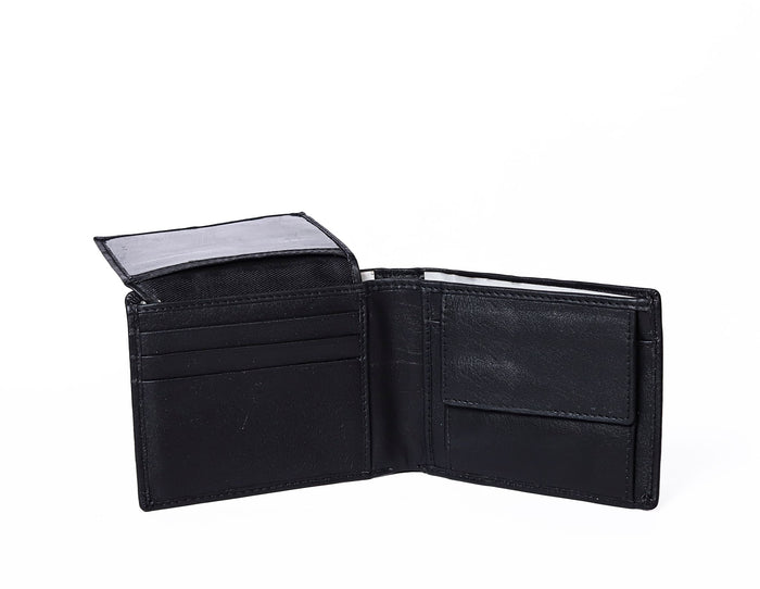 BLACK SLIM WALLET