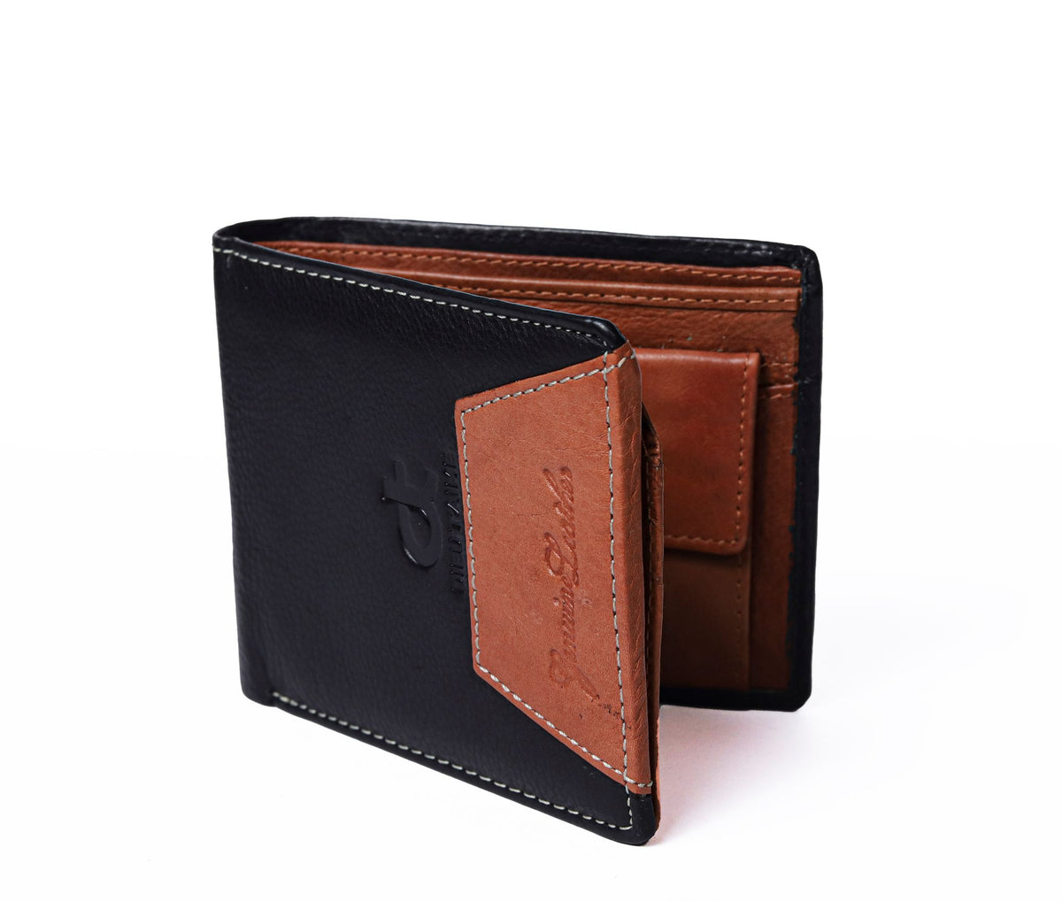 BLACK / BROWN TRENDING WALLET