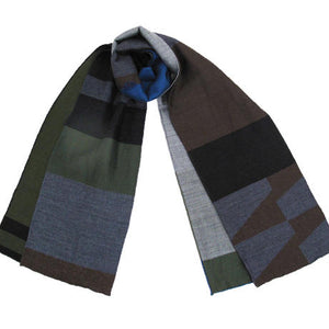 ストール WOOL LAYER STOLE SLAW-0001 BLK